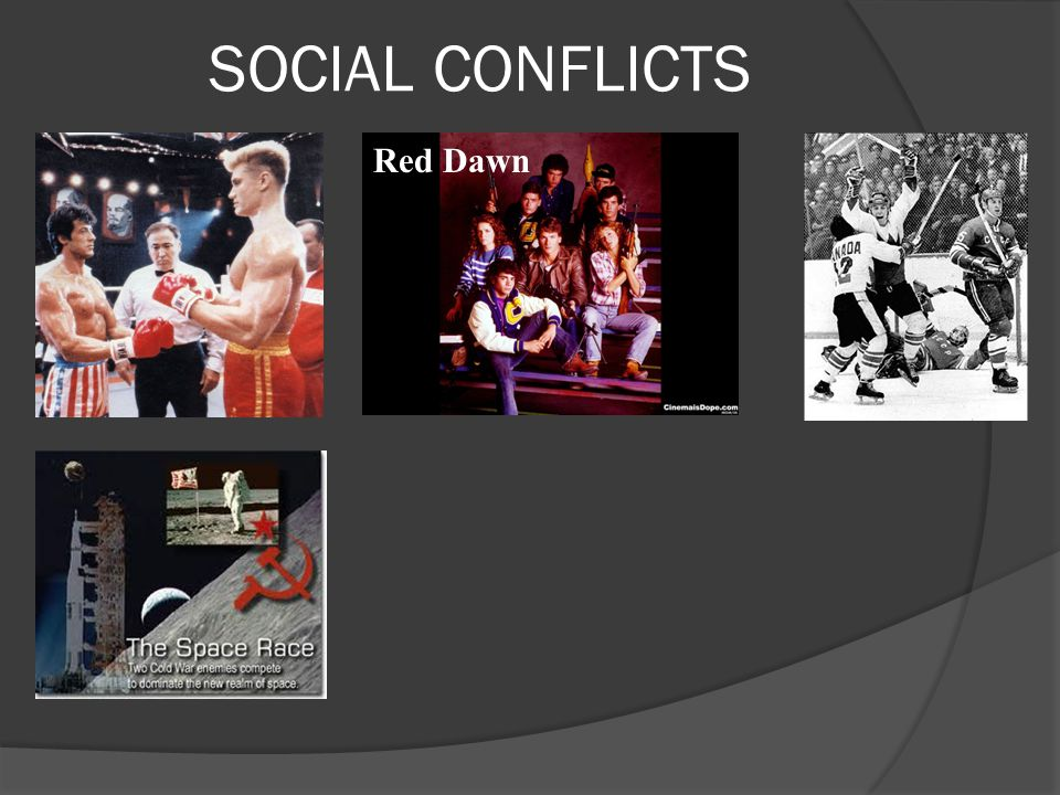 SOCIAL CONFLICTS Red Dawn