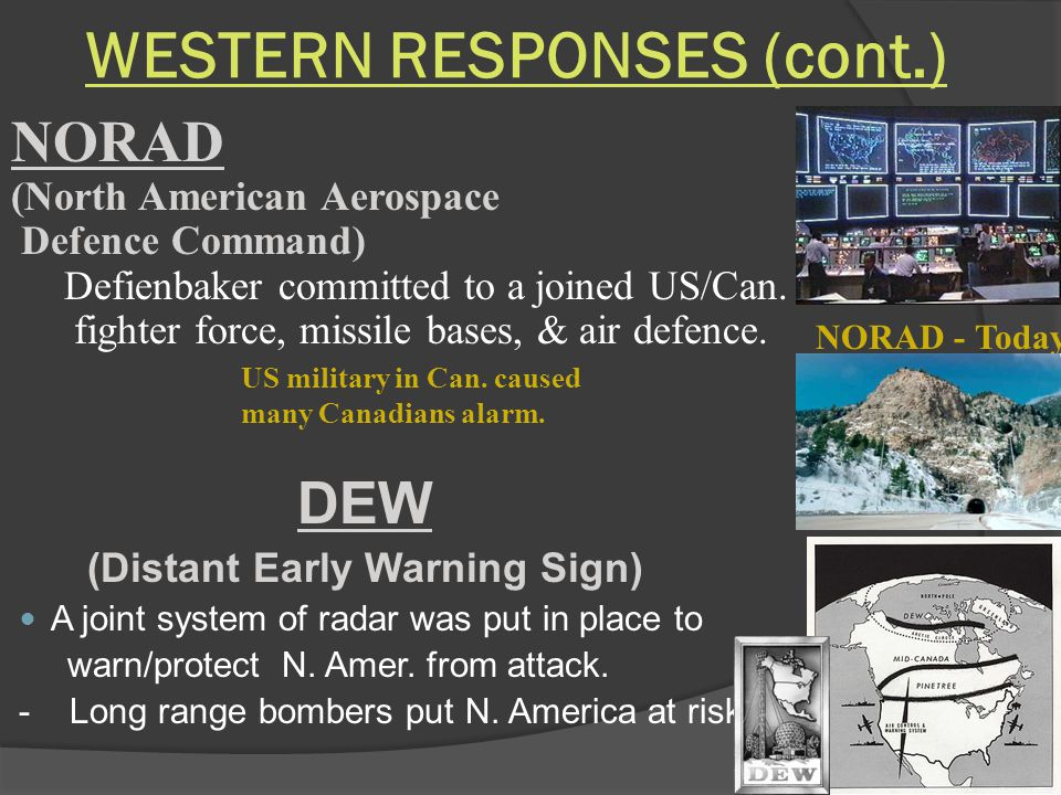 WESTERN RESPONSES (cont.)