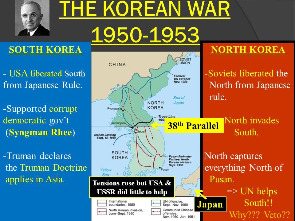THE KOREAN WAR 1950-1953 SOUTH KOREA