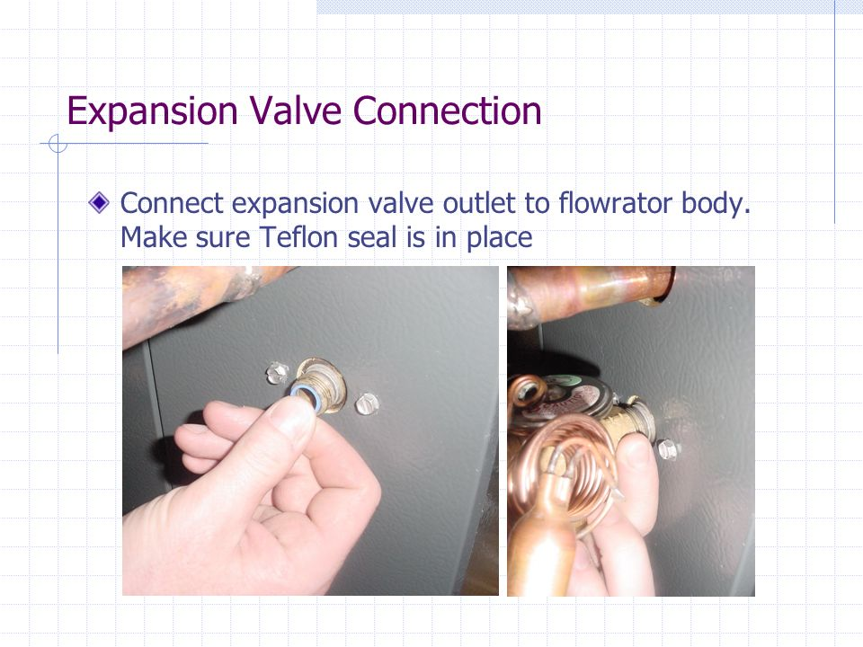 Expansion Valve Connection
