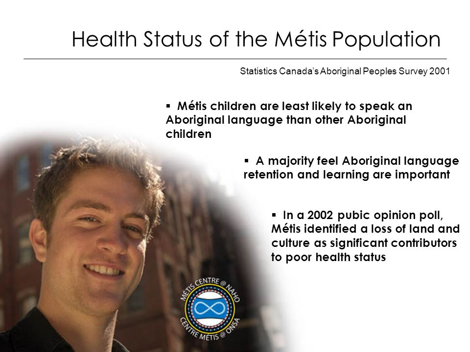 Statistics Canada's Aboriginal Peoples Survey 2001