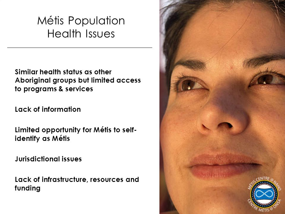 Métis Population Health Issues