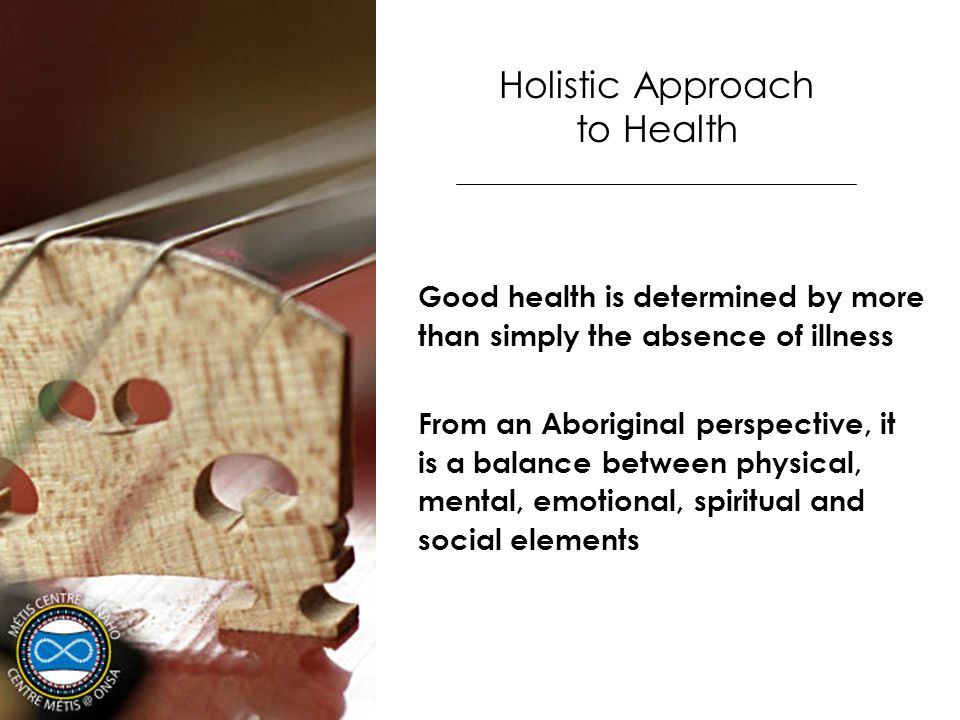 Holistic Approach to Health