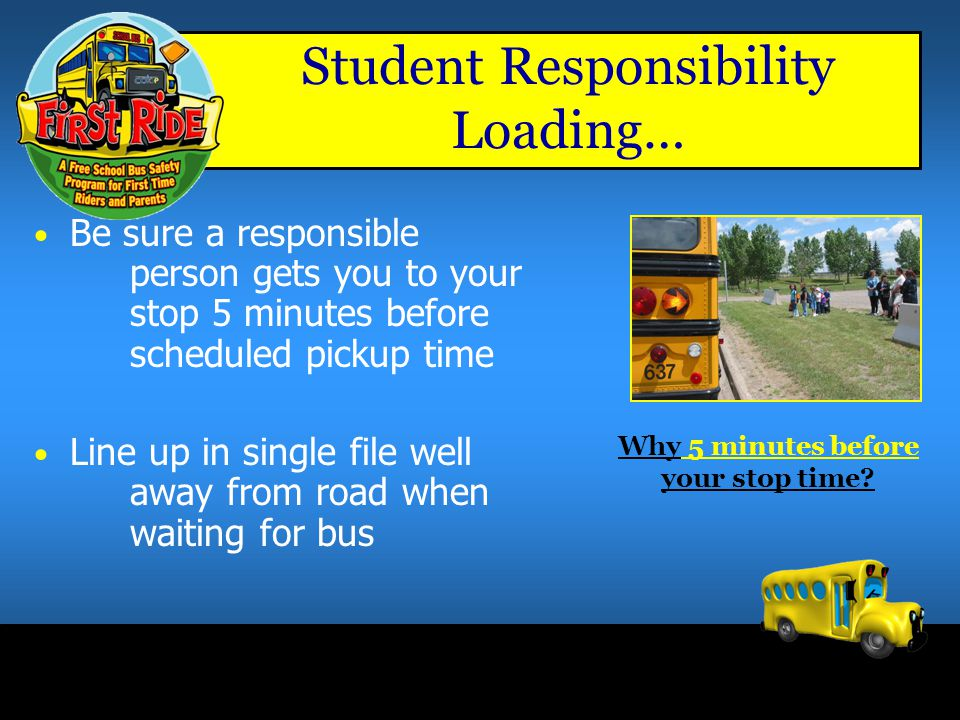 Student Responsibility Loading…