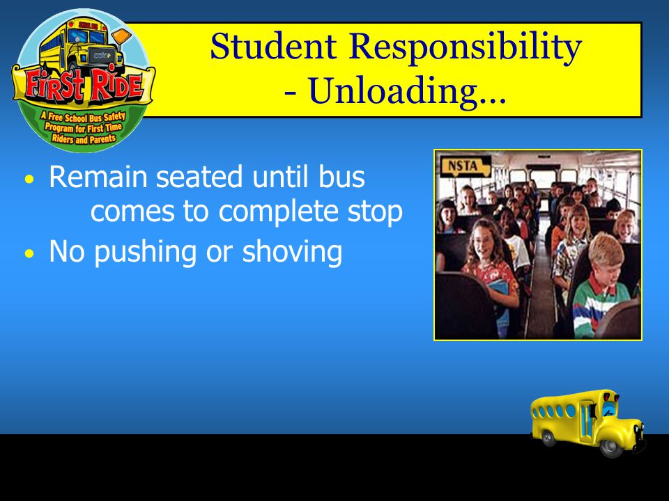Student Responsibility - Unloading…
