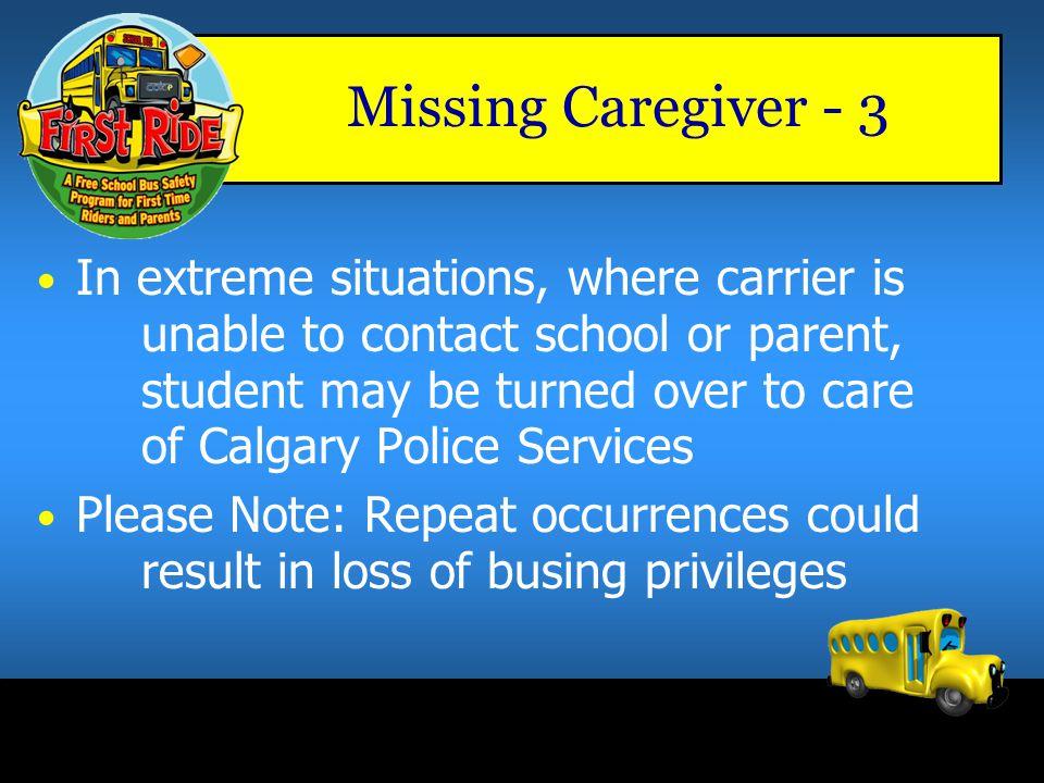 Missing Caregiver - 3
