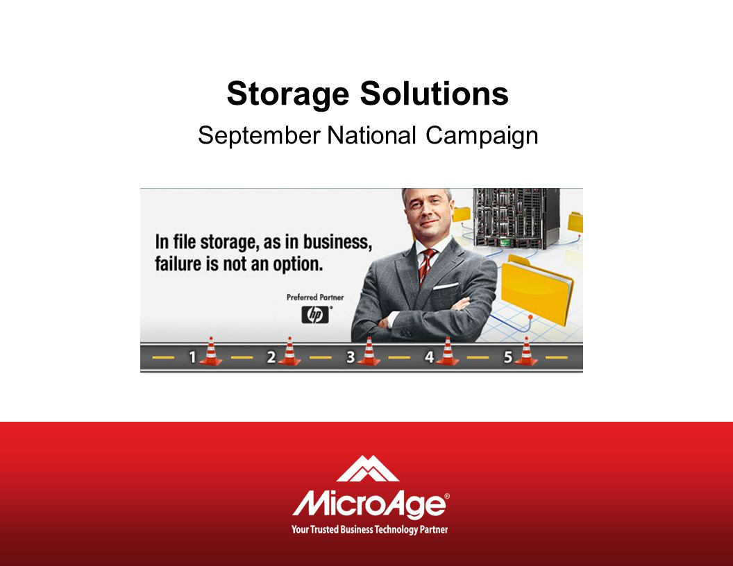 Storage Solutions September National Campaign