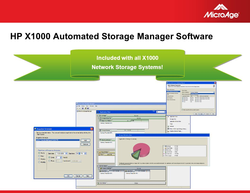 HP X1000 Automated Storage Manager Software