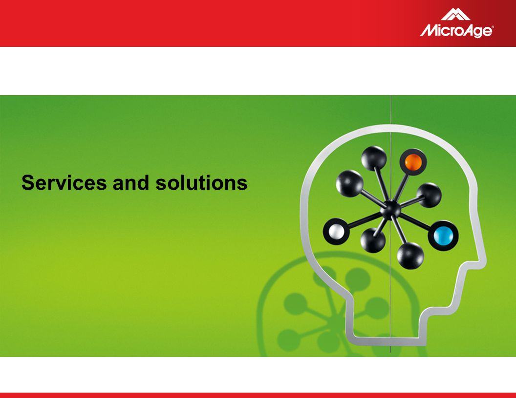 Services and solutions