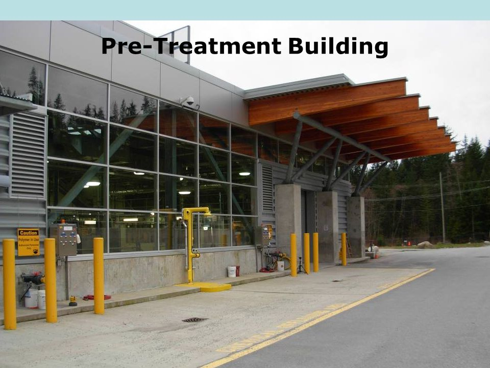 Pre-Treatment Building