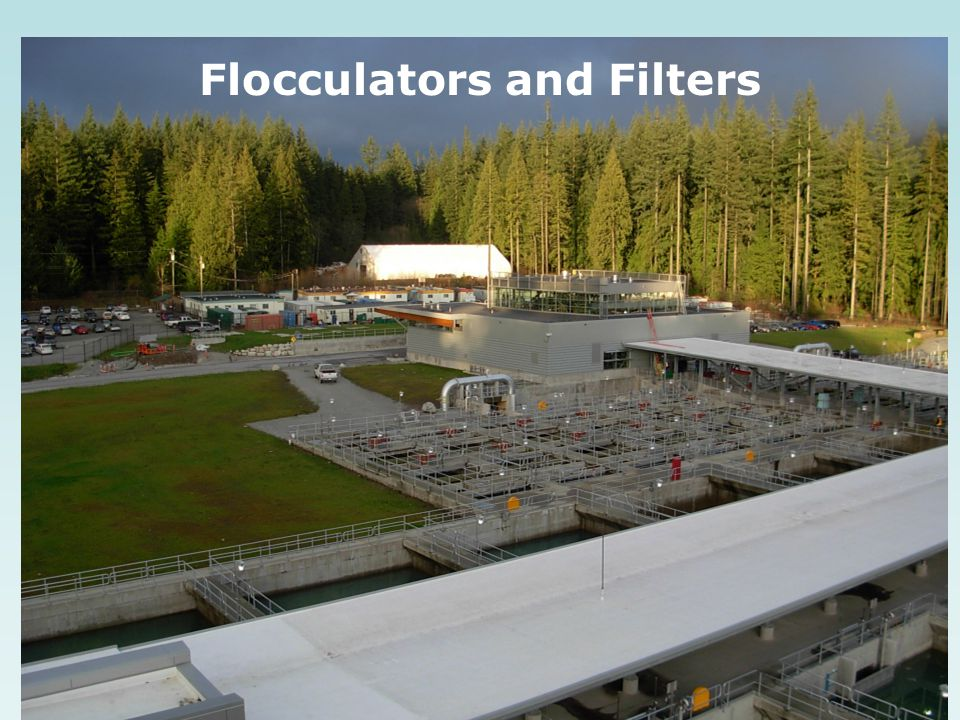 Flocculators and Filters