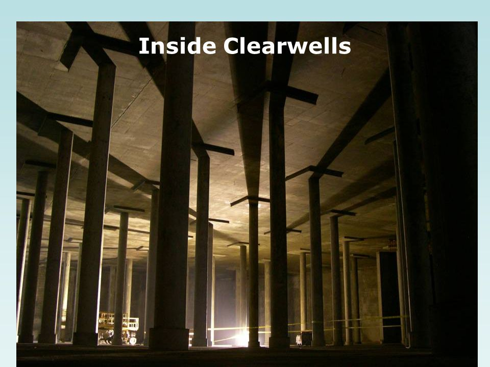 Inside Clearwells