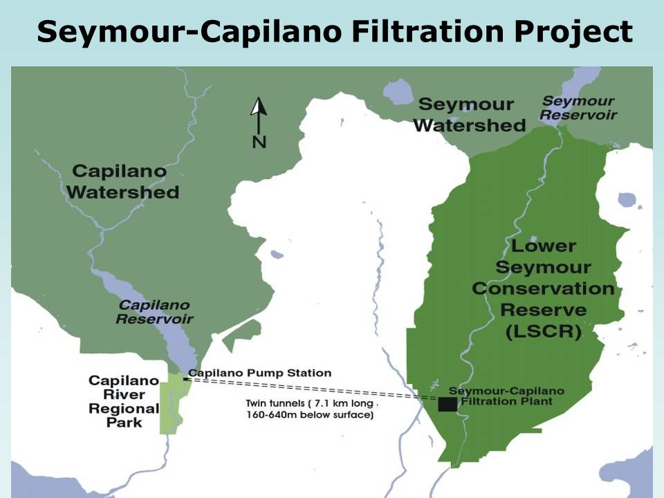 Seymour-Capilano Filtration Project