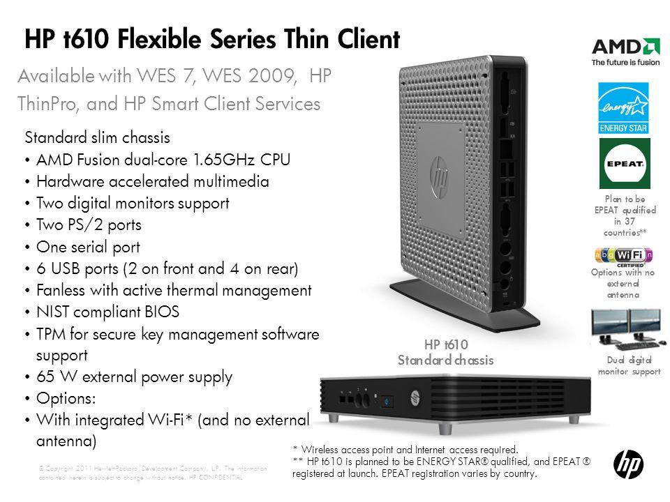 HP t610 Flexible Series Thin Client