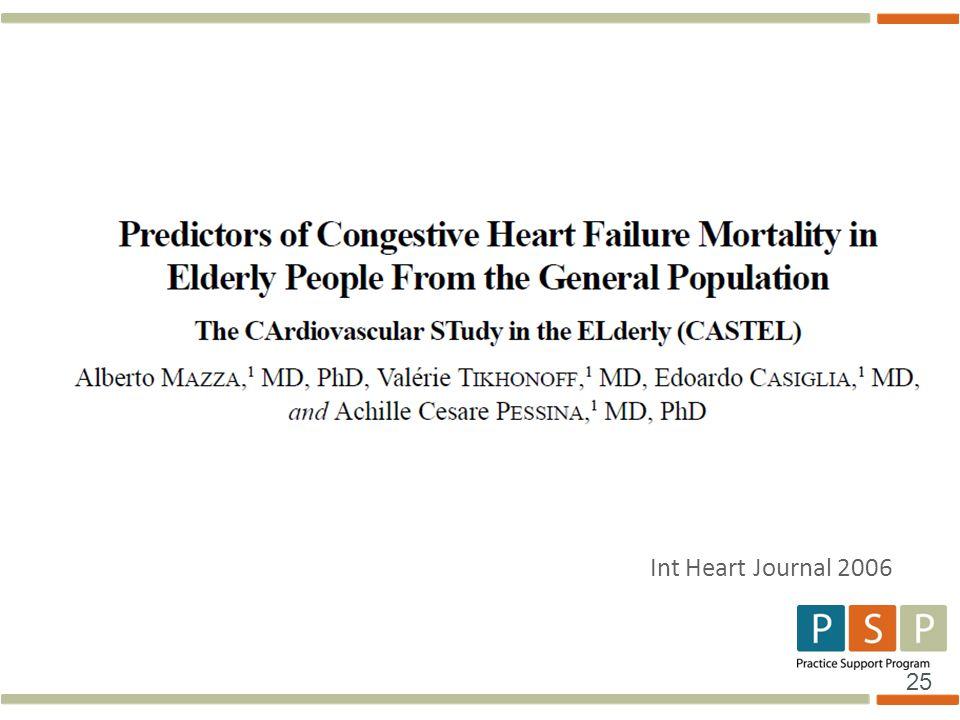 Int Heart Journal 2006
