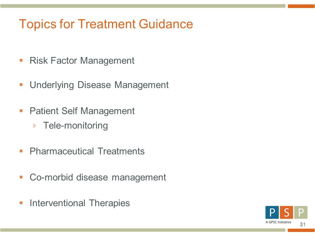 Topics for Treatment Guidance
