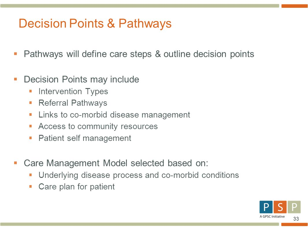 Decision Points & Pathways