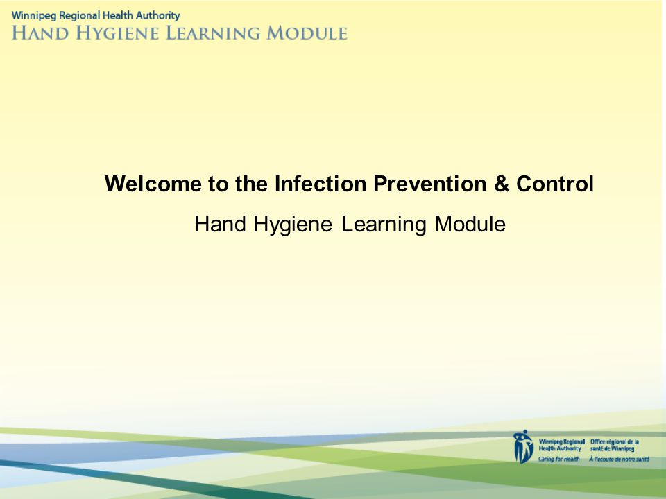 Welcome to the Infection Prevention & Control
