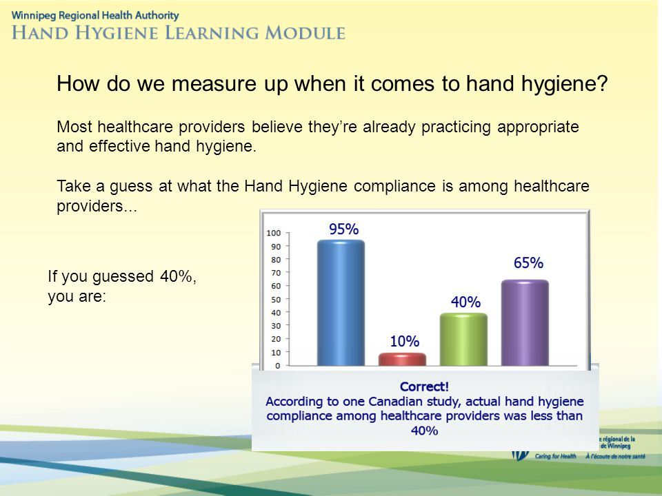How do we measure up when it comes to hand hygiene