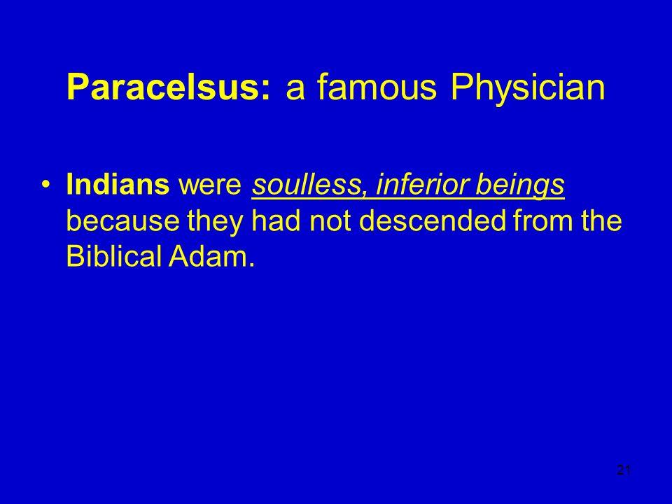 Paracelsus: a famous Physician