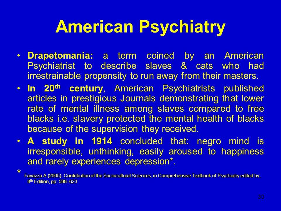 American Psychiatry