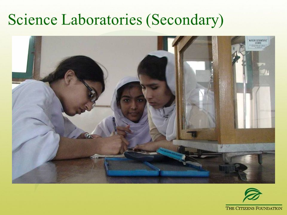 Science Laboratories (Secondary)