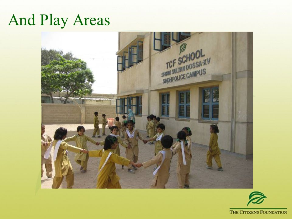 And Play Areas