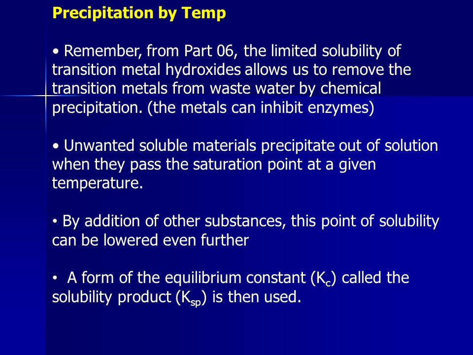 Precipitation by Temp