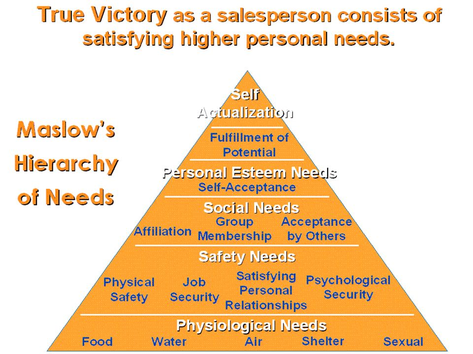 Golden Rules of Selling Skills