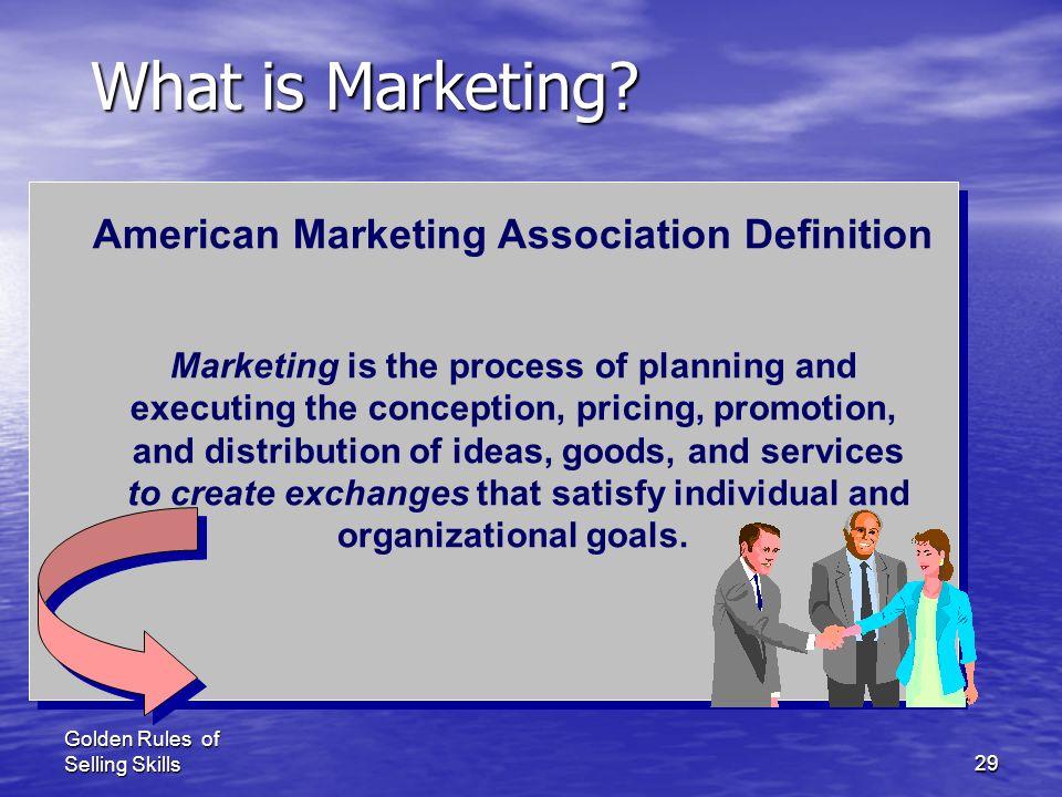 American Marketing Association Definition