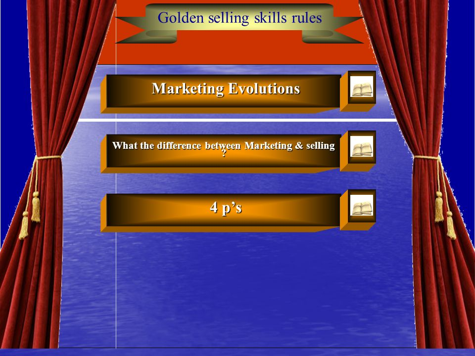 What the difference between Marketing & selling