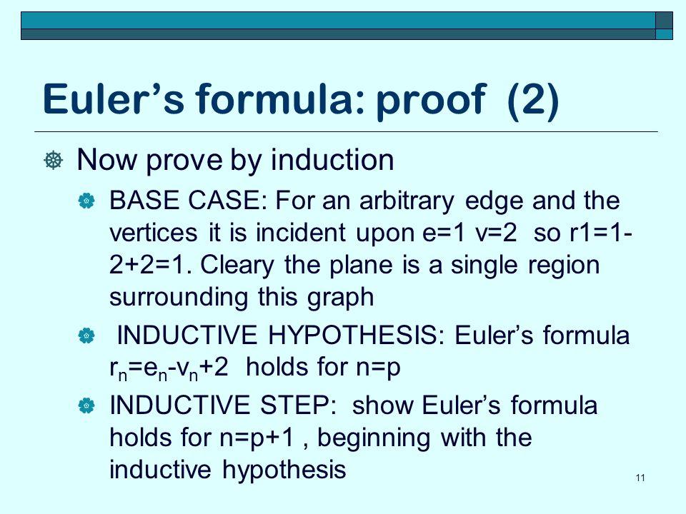 Euler's formula: proof (2)