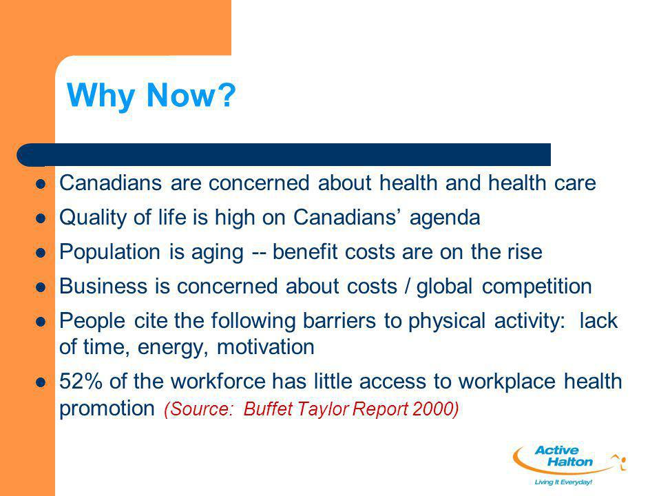 Why Now Canadians are concerned about health and health care