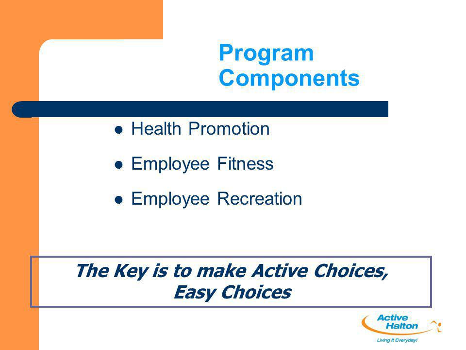 The Key is to make Active Choices,