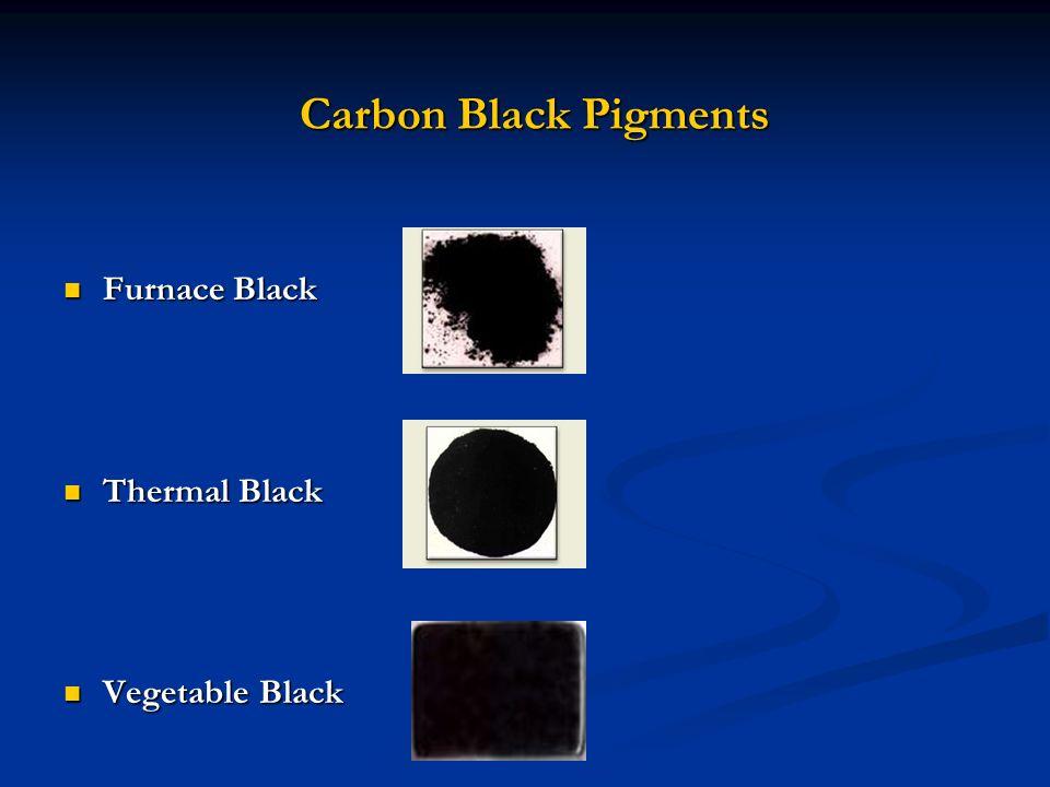 Carbon Black Pigments Furnace Black Thermal Black Vegetable Black