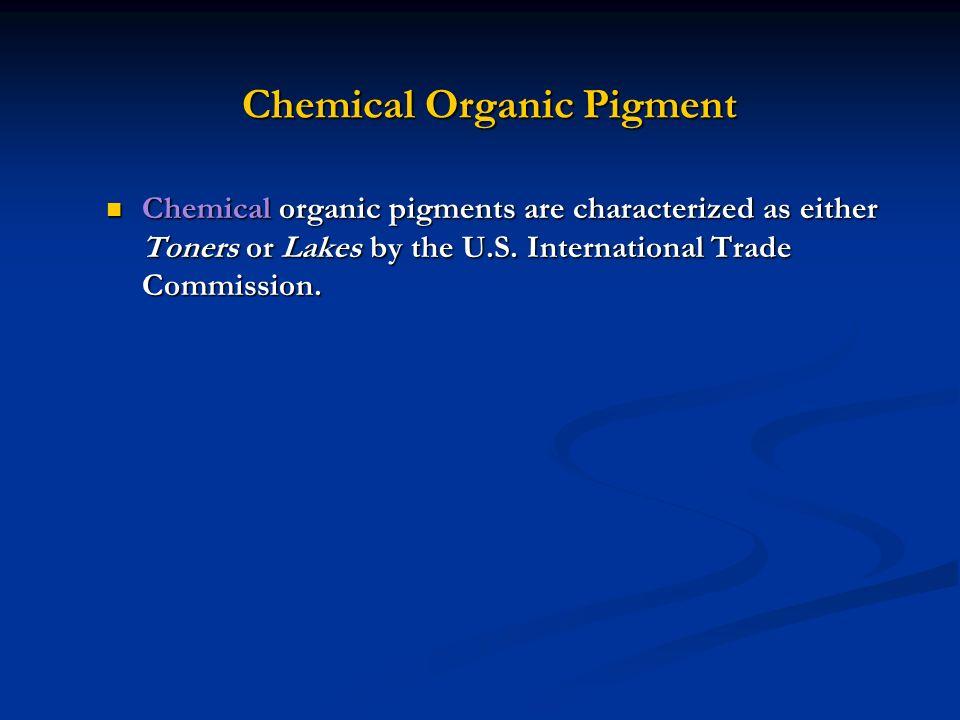 Chemical Organic Pigment
