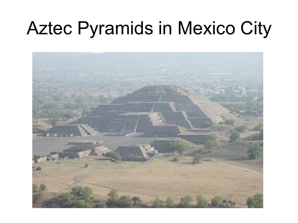 Aztec Pyramids in Mexico City