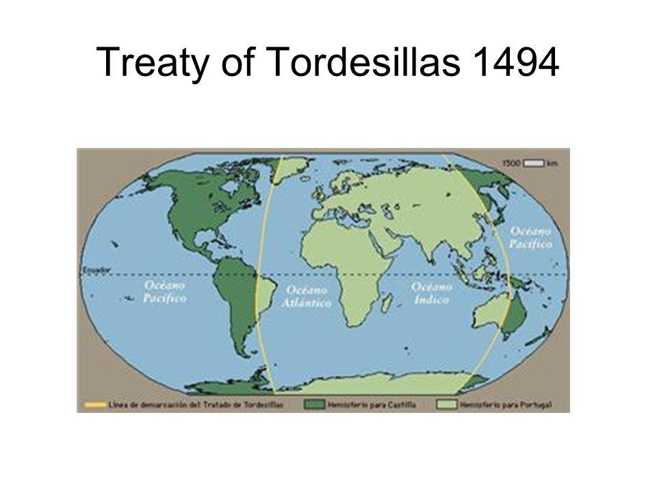 Treaty of Tordesillas 1494