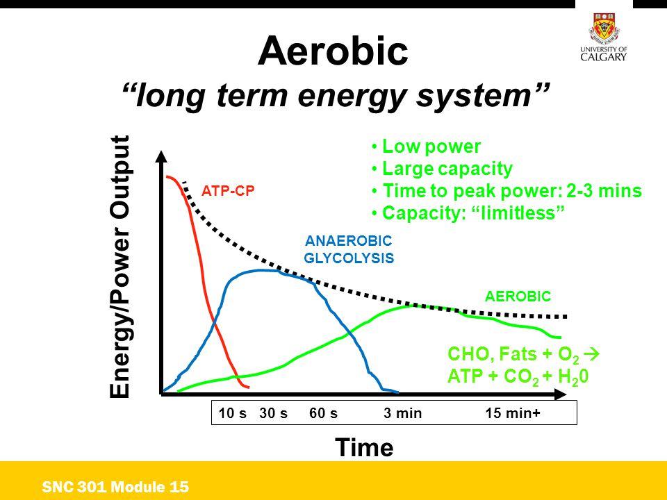 long term energy system