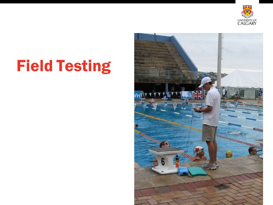 Field Testing Specialist might canvas the coaches to provide one test each. This will get the ball rolling. Then we can move into SNC Protocol.