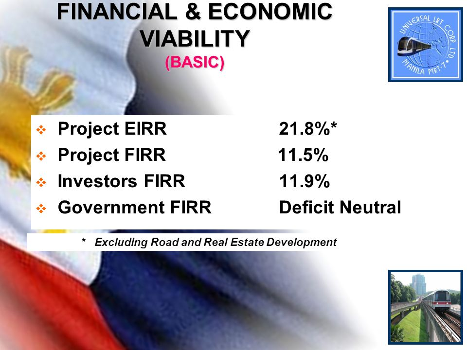 FINANCIAL & ECONOMIC VIABILITY (BASIC)