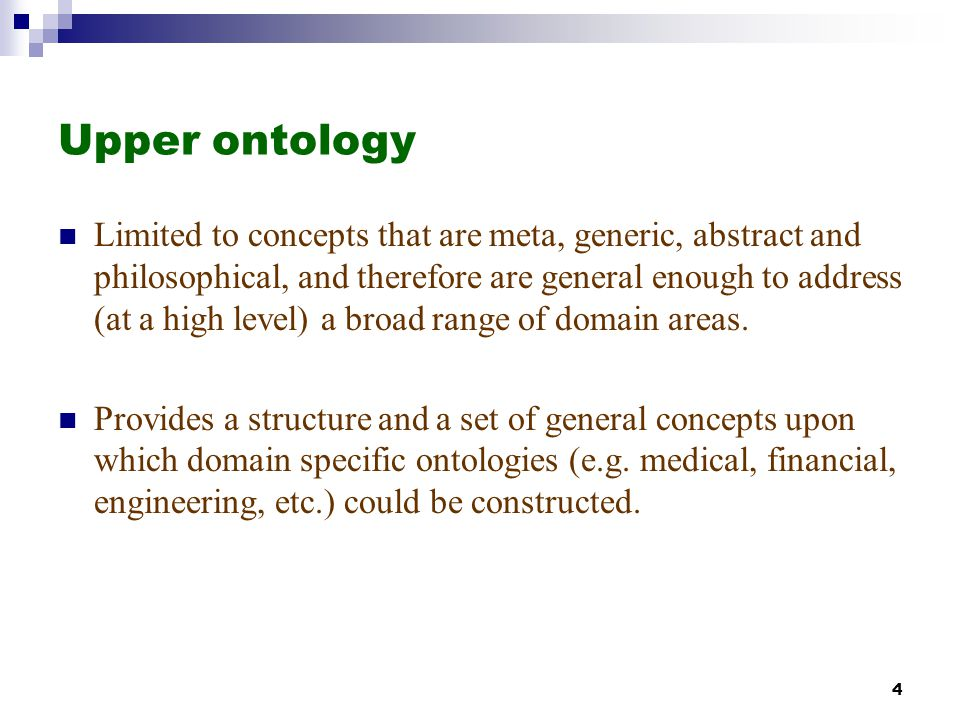 Upper ontology