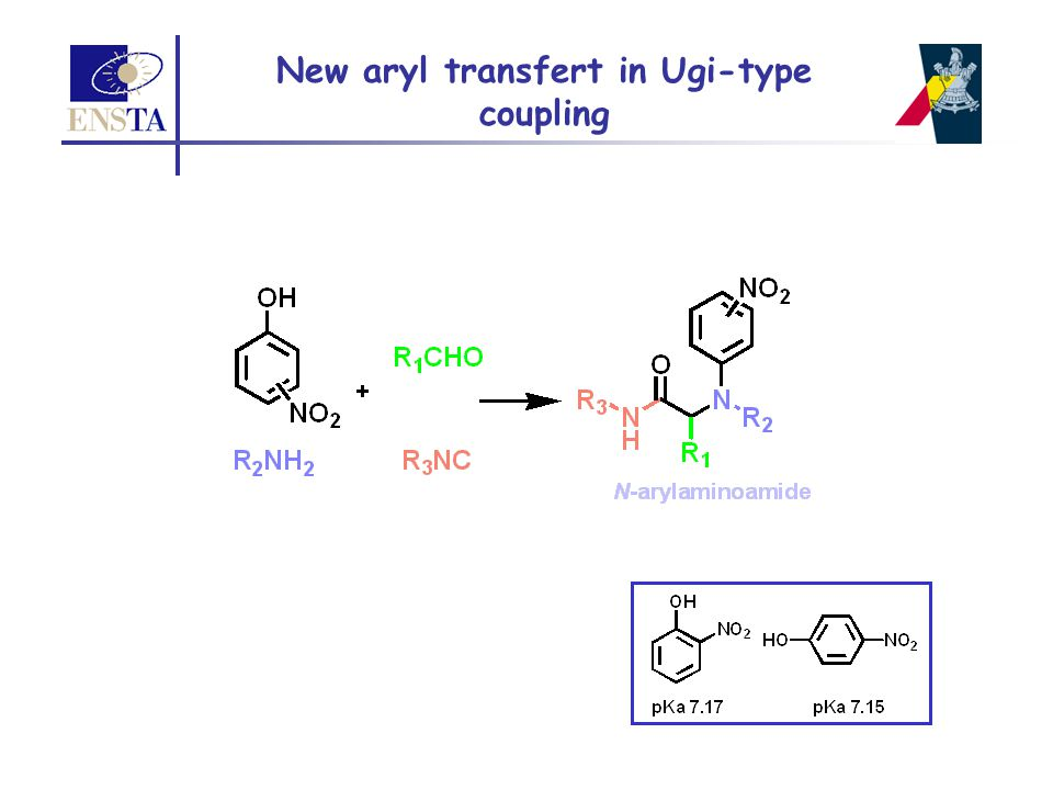 New aryl transfert in Ugi-type coupling