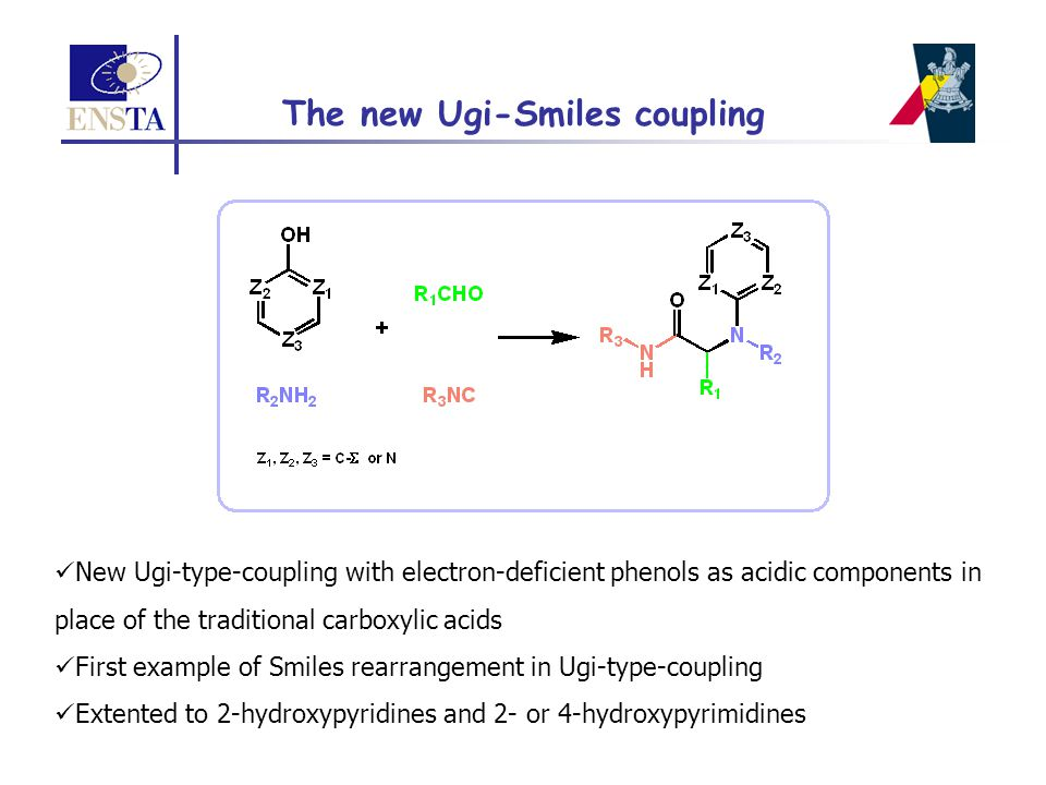The new Ugi-Smiles coupling