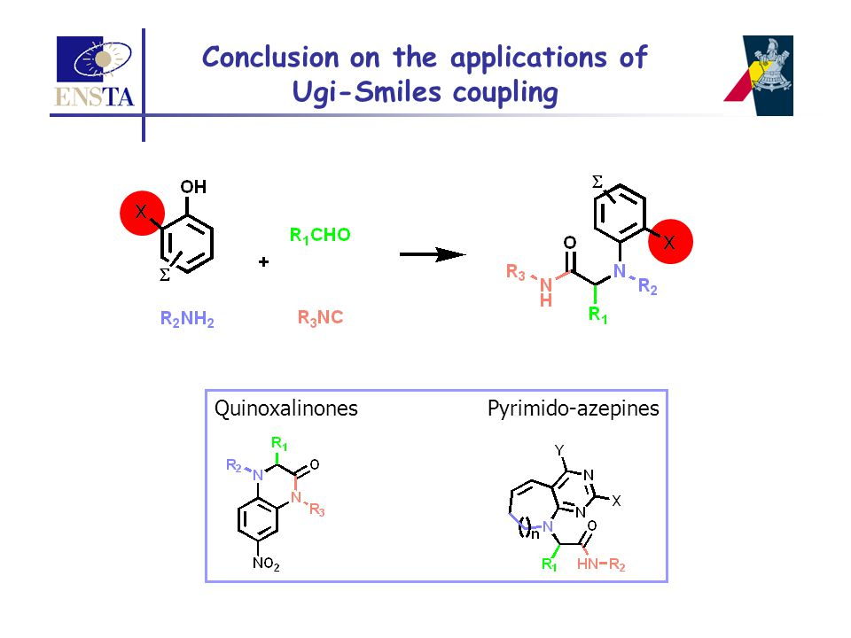 Conclusion on the applications of Ugi-Smiles coupling