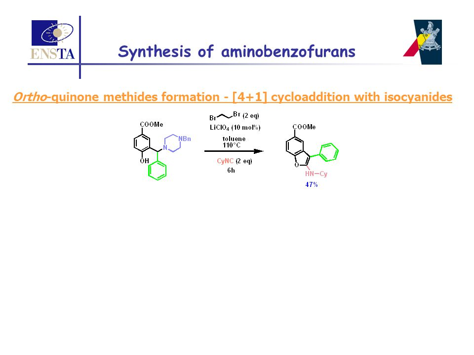 Synthesis of aminobenzofurans