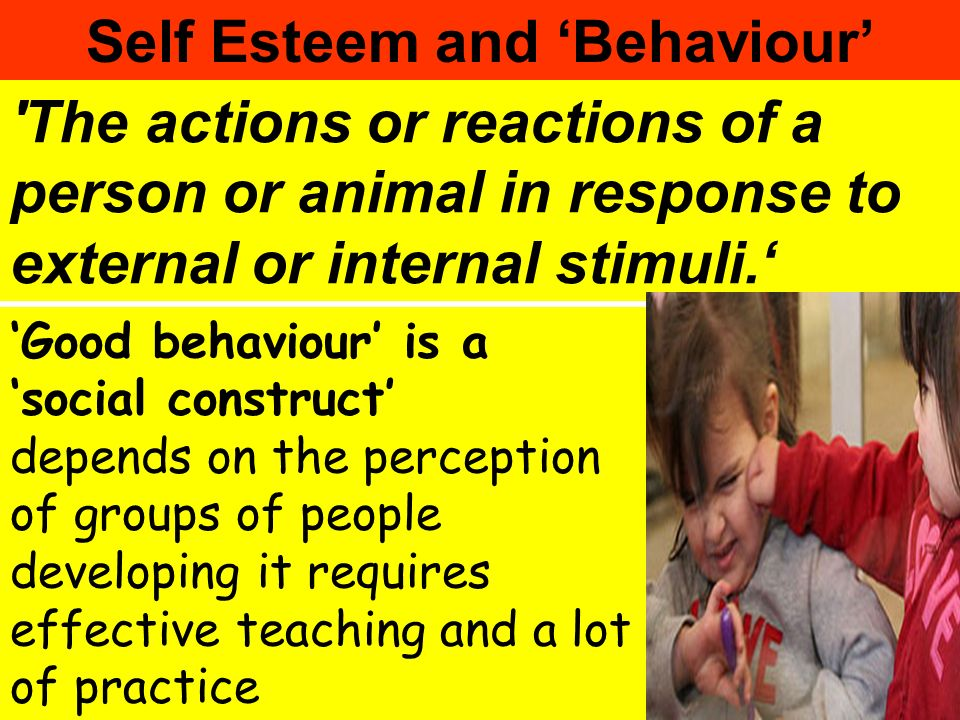 Self Esteem and 'Behaviour'