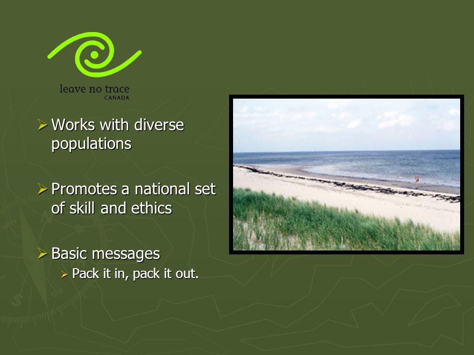 Works with diverse populations