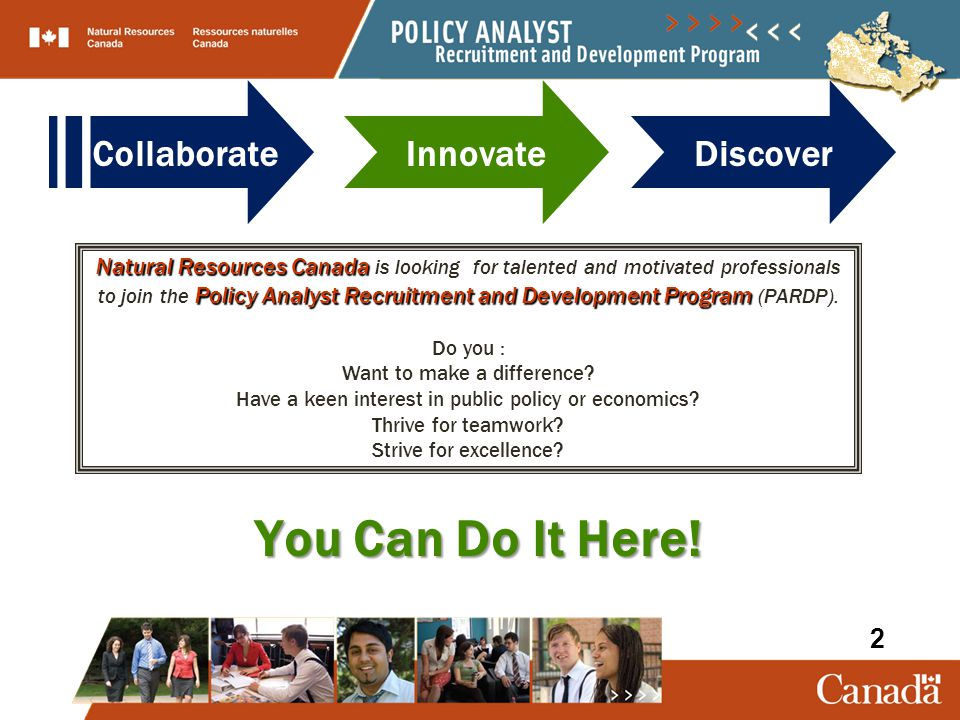 You Can Do It Here! Collaborate Innovate Discover 2