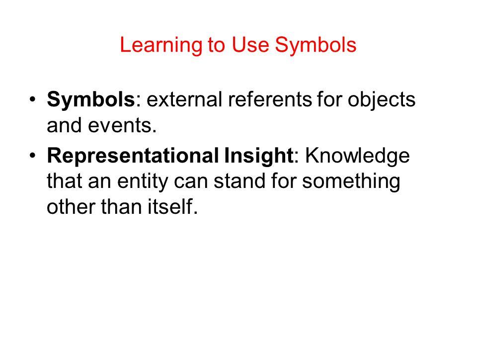 Learning to Use Symbols